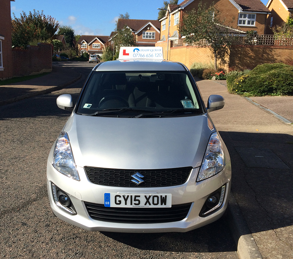 Learn to drive with Steering Clear in a Suzuki Swift