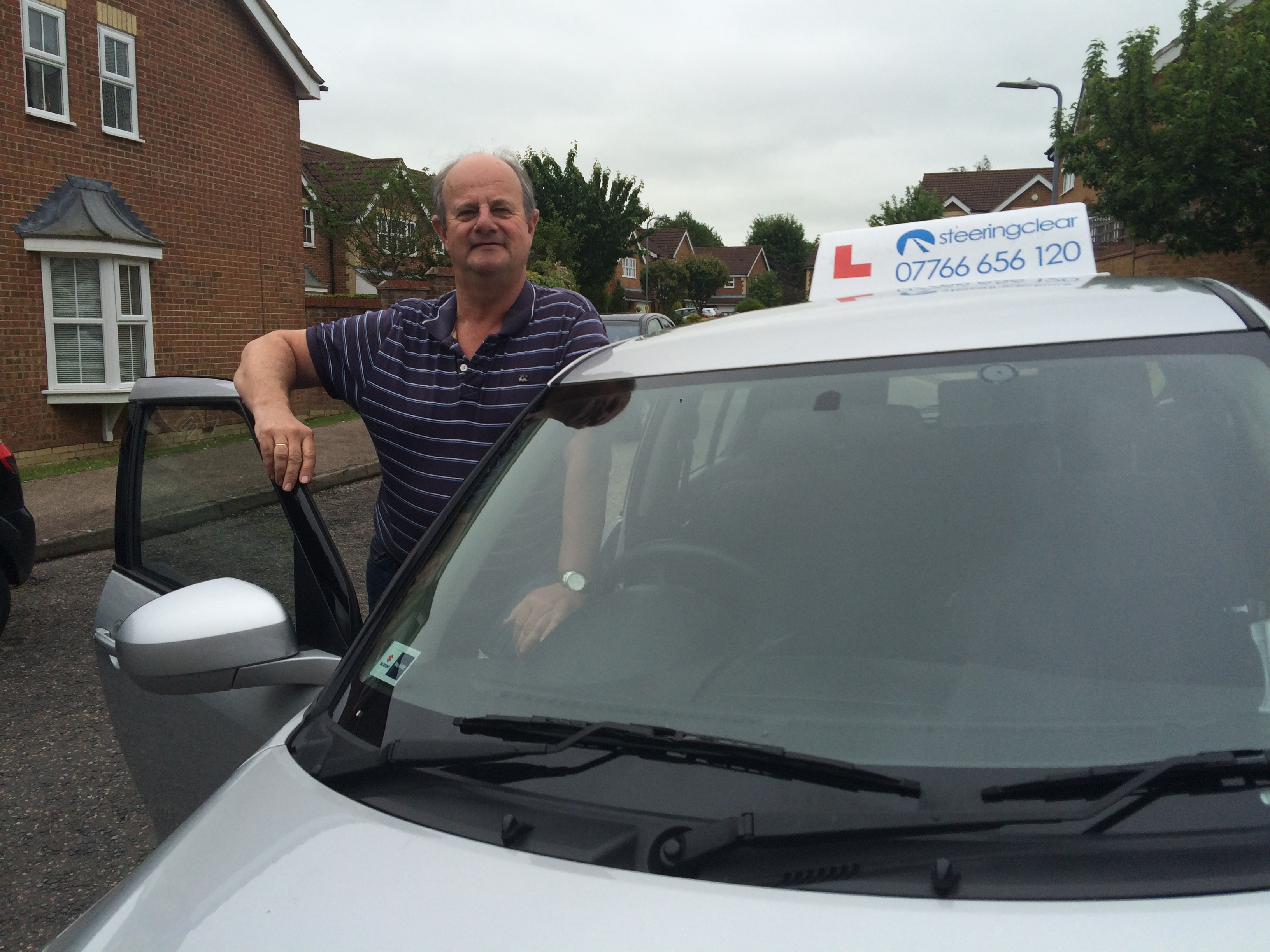Mike Walling - Brighton Driving Instructor for Steering Clear